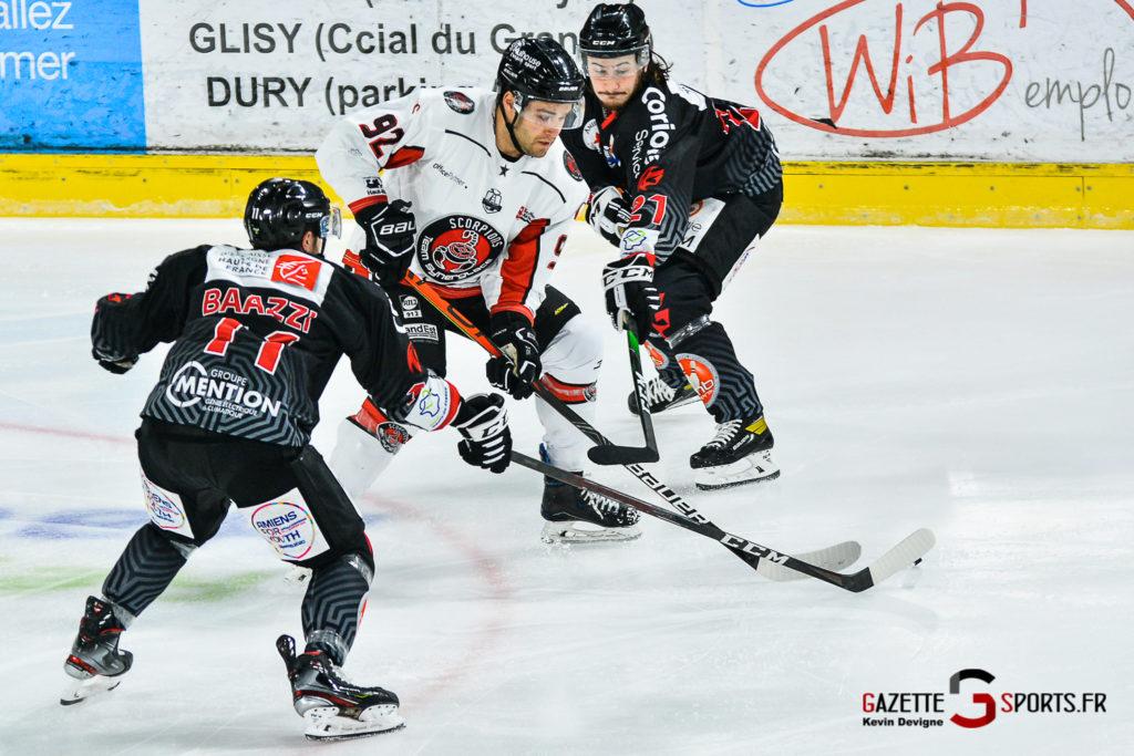 Hockey Sur Glace Amiens Vs Mulhouse J5 Kevin Devigne Gazettesports 55