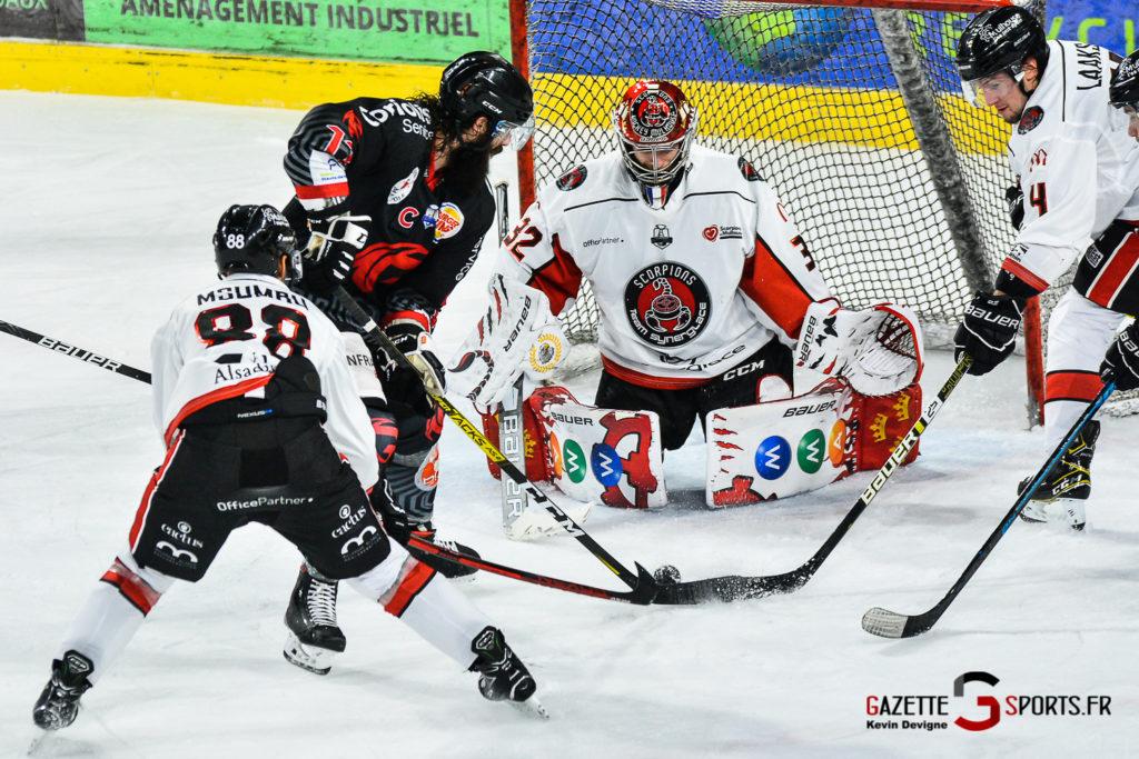 Hockey Sur Glace Amiens Vs Mulhouse J5 Kevin Devigne Gazettesports 80