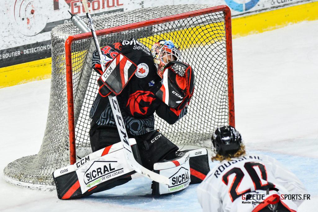 Hockey Sur Glace Amiens Vs Mulhouse J5 Kevin Devigne Gazettesports 87