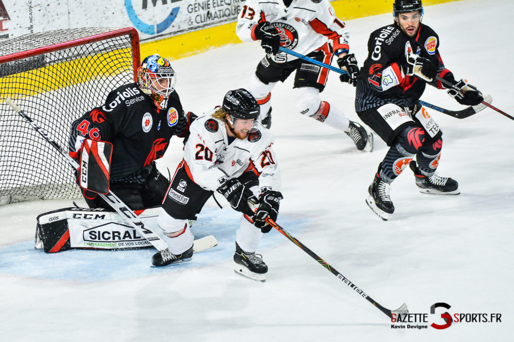Hockey Sur Glace Amiens Vs Mulhouse J5 Kevin Devigne Gazettesports 88
