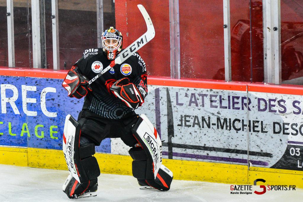 Hockey Sur Glace Amiens Vs Mulhouse J5 Kevin Devigne Gazettesports 93