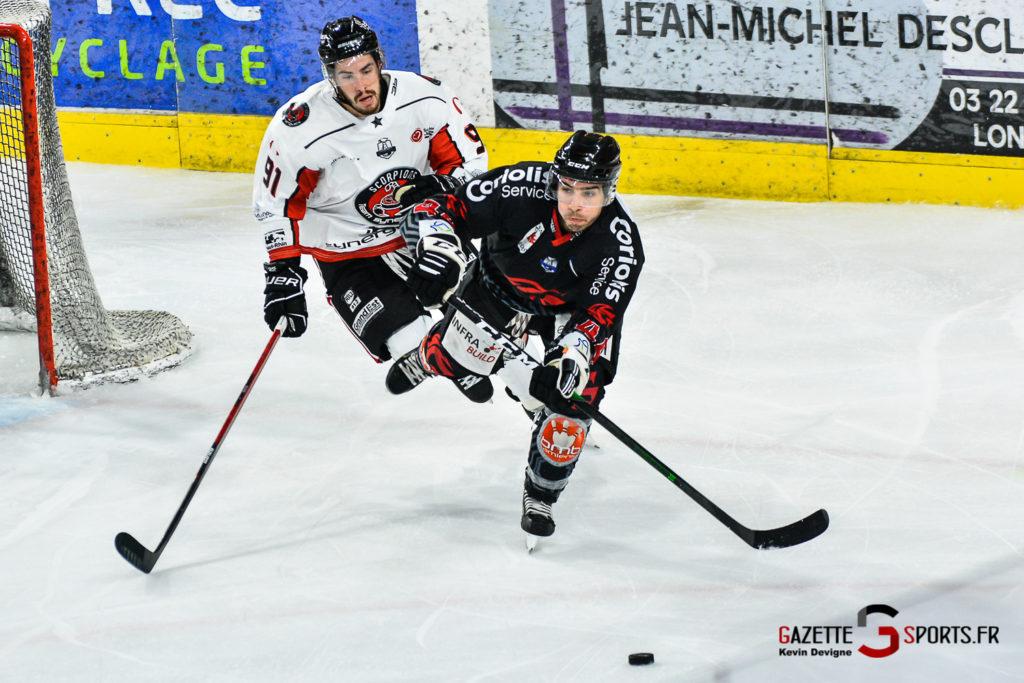 Hockey Sur Glace Amiens Vs Mulhouse J5 Kevin Devigne Gazettesports 94
