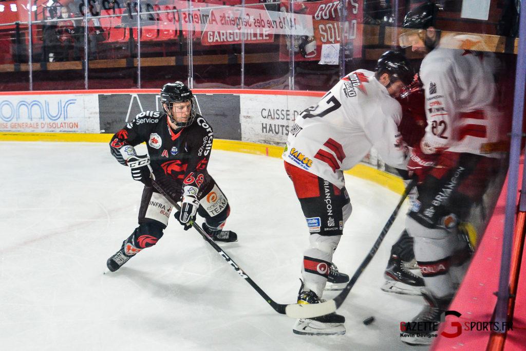 Hockey Sur Glace Gothiques Vs Briancon Kevin Devigne Gazettesports 101