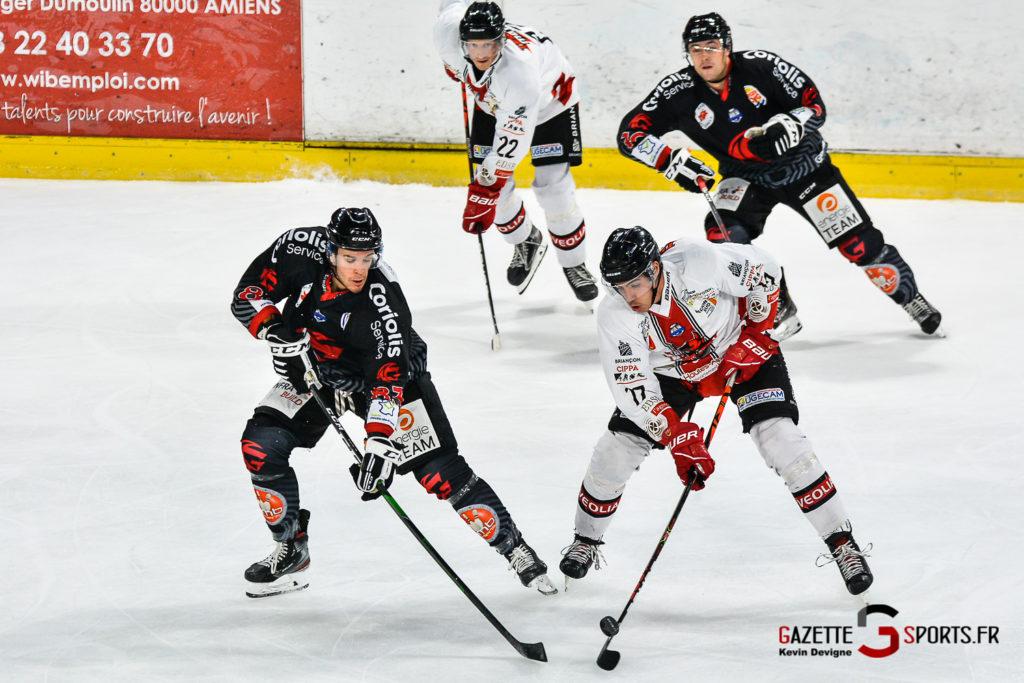 Hockey Sur Glace Gothiques Vs Briancon Kevin Devigne Gazettesports 24