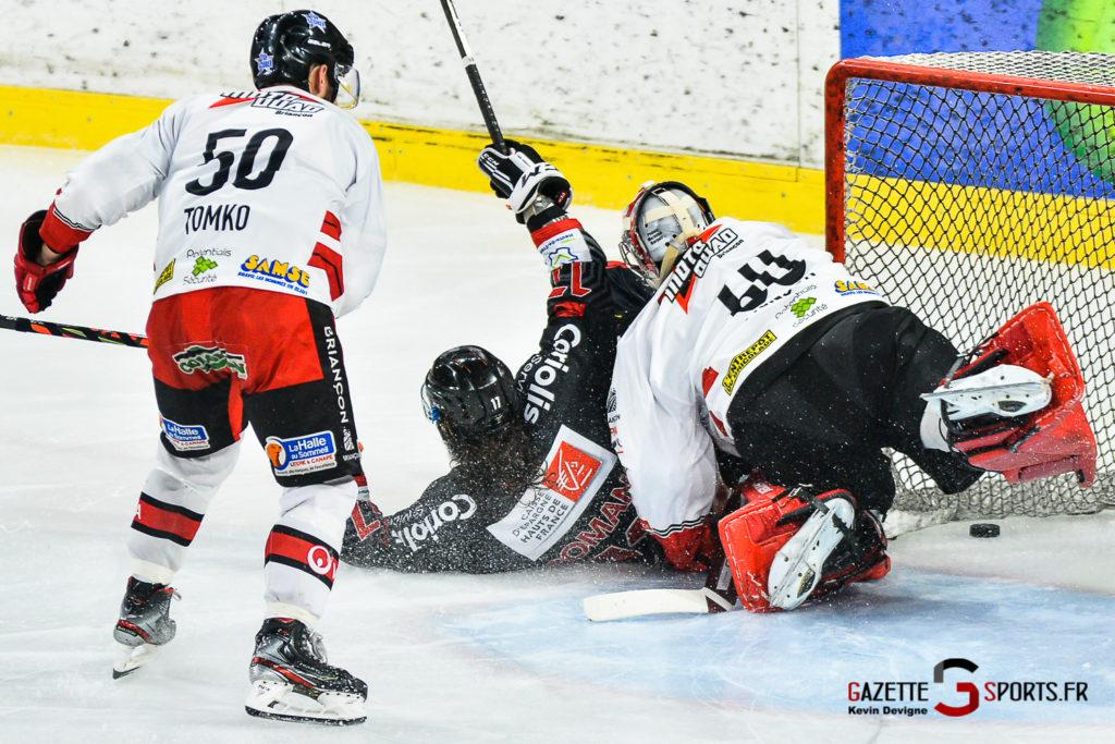 Hockey Sur Glace Gothiques Vs Briancon Kevin Devigne Gazettesports 52