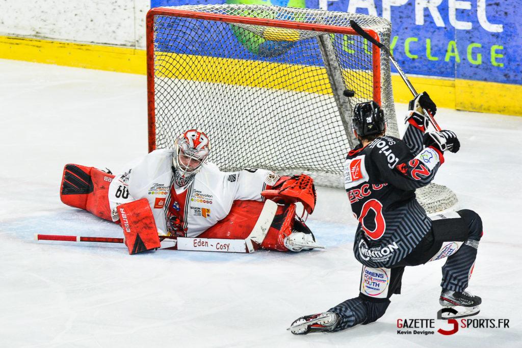 Hockey Sur Glace Gothiques Vs Briancon Kevin Devigne Gazettesports 56