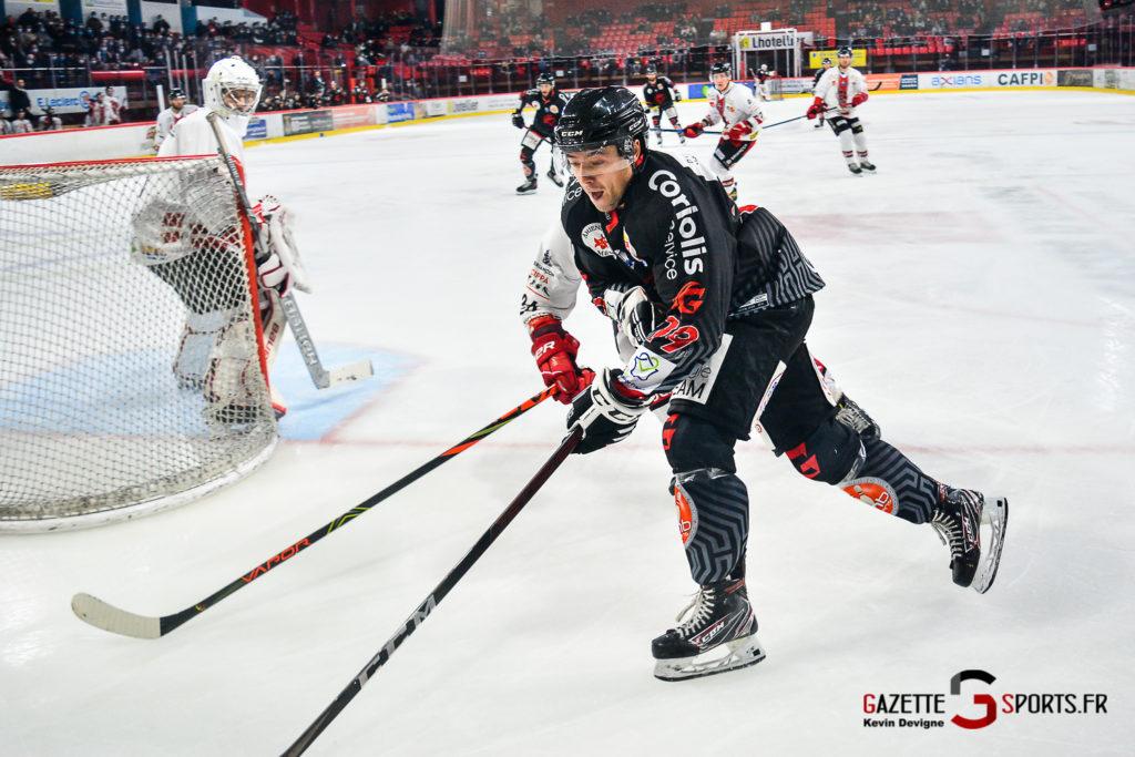 Hockey Sur Glace Gothiques Vs Briancon Kevin Devigne Gazettesports 95