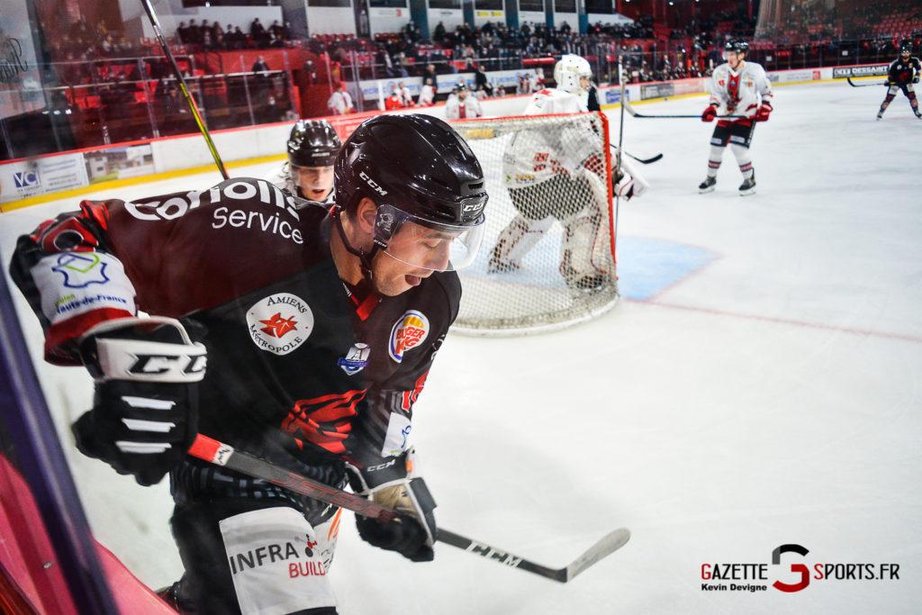 Hockey Sur Glace Gothiques Vs Briancon Kevin Devigne Gazettesports 96