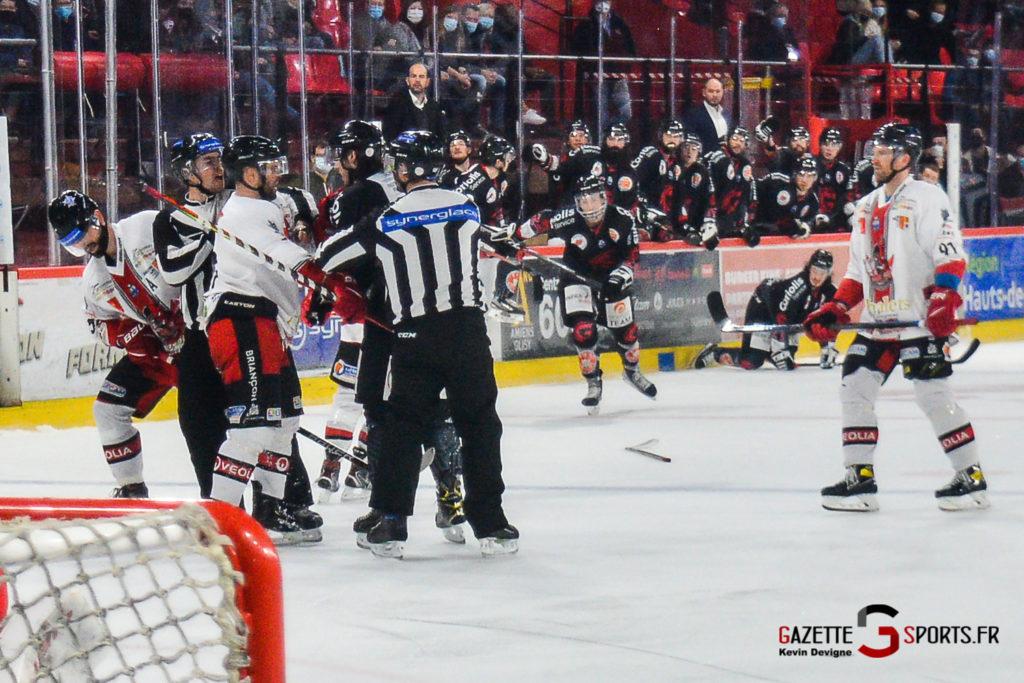 Hockey Sur Glace Gothiques Vs Briancon Kevin Devigne Gazettesports 98
