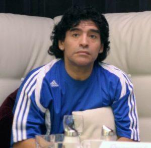 Diego Maradona Cropped
