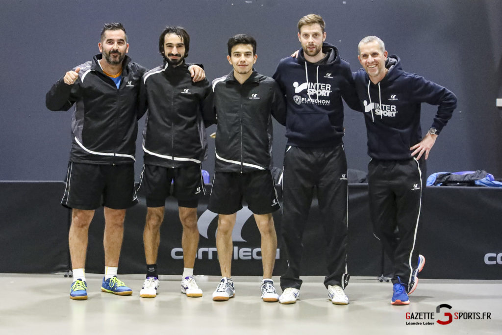 Tennis De Table Asptt Amiens Vs Miramas 0103 Leandre Leber Gazettesports