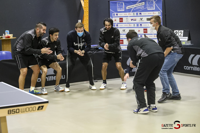 Tennis De Table Asptt Amiens Vs Miramas 0105 Leandre Leber Gazettesports