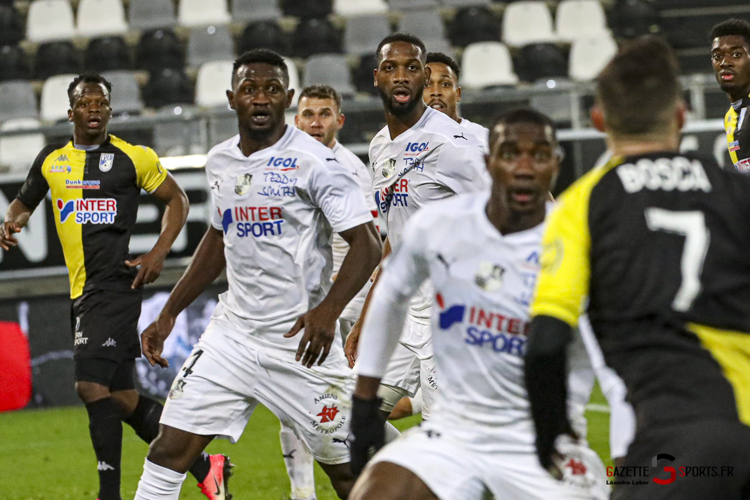 Football Amiens Vs Dunkerque Ligue 2 0050 Leandre Leber Gazettesports