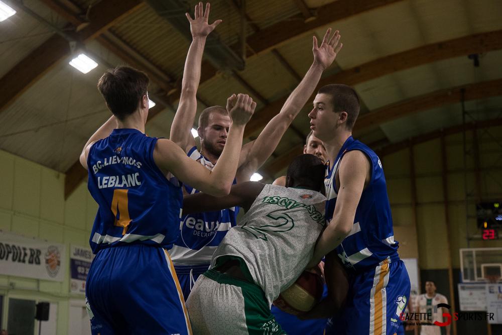 Basketball Esclamsbb Vs Lievin Reynald Valleron 42