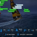 Virtual Regatta Screen Leandre Leber