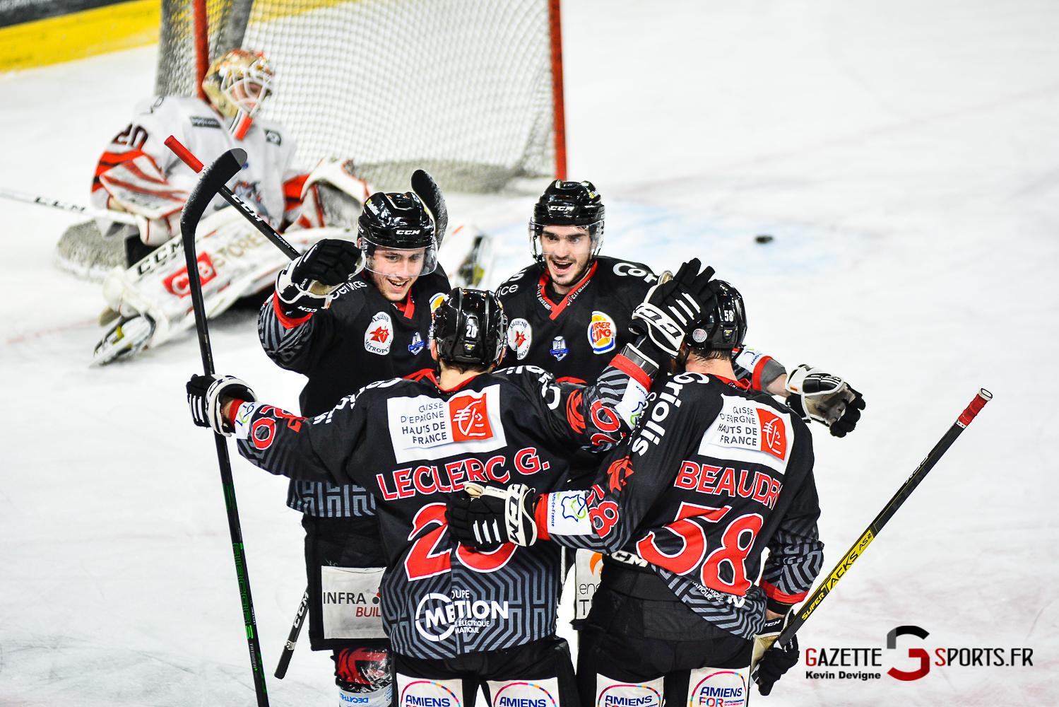Hockey Sur Glace Amiens Vs Bordeaux J15 Kevin Devigne Gazettesports 94