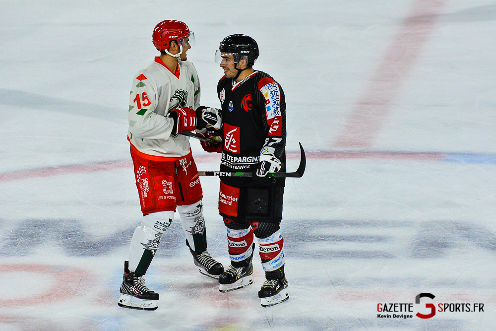 Hockey Sur Glace Amiens Vs Cergy Kevin Devigne Gazettesports 139