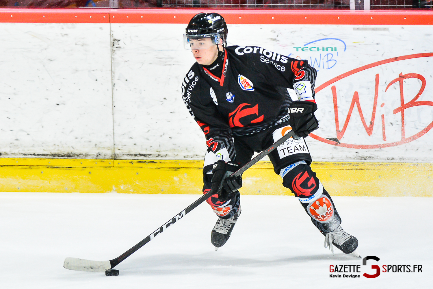 Hockey Sur Glace Amiens Vs Chamonix J18 Kevin Devigne Gazettesports 148