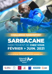 Affiche Challenge Handisport Sarbacane