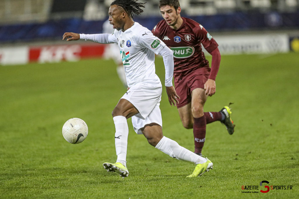 Football Amiens Sc Vs Metz Coupe De France 0039 Leandre Leber Gazettesports