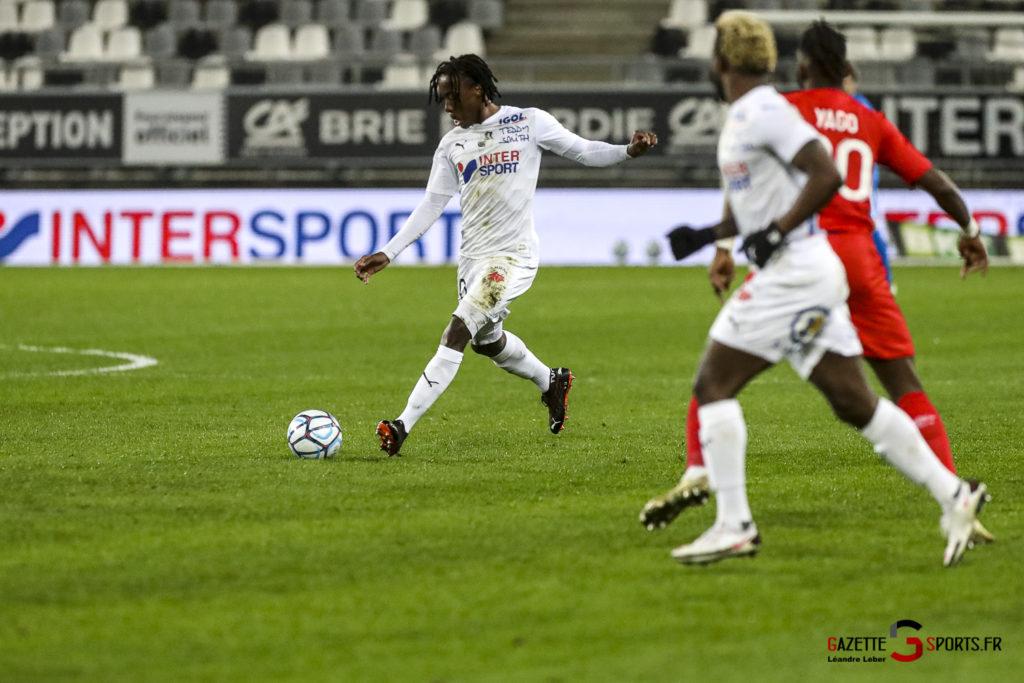 Football Ligue 2 Amiens Vs Caen Fev 21 0015 Leandre Leber Gazettesports