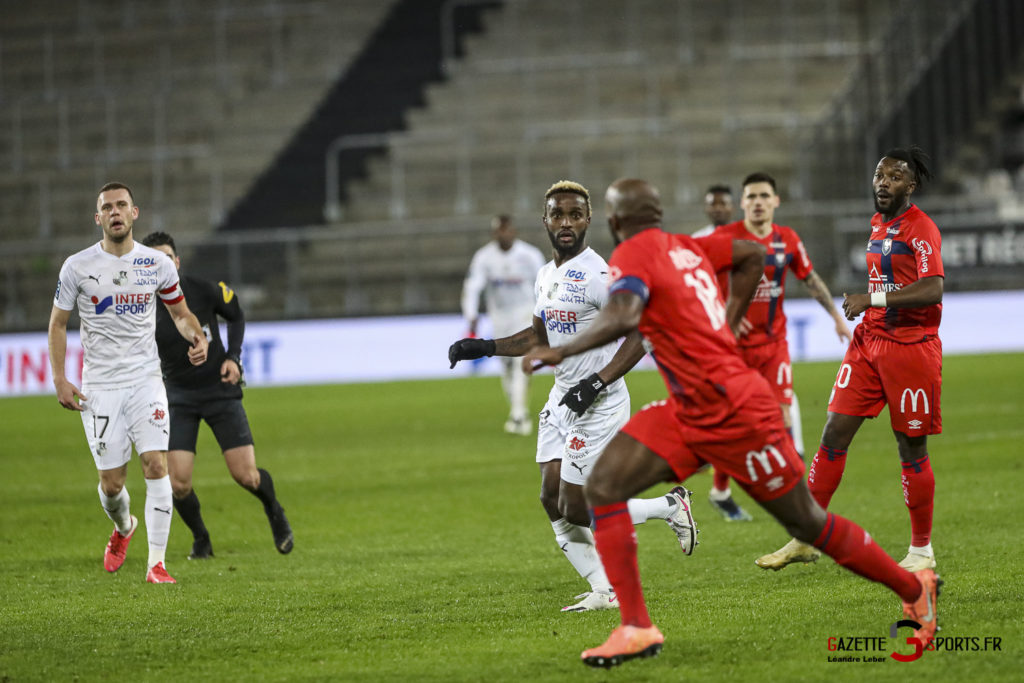 Football Ligue 2 Amiens Vs Caen Fev 21 0016 Leandre Leber Gazettesports