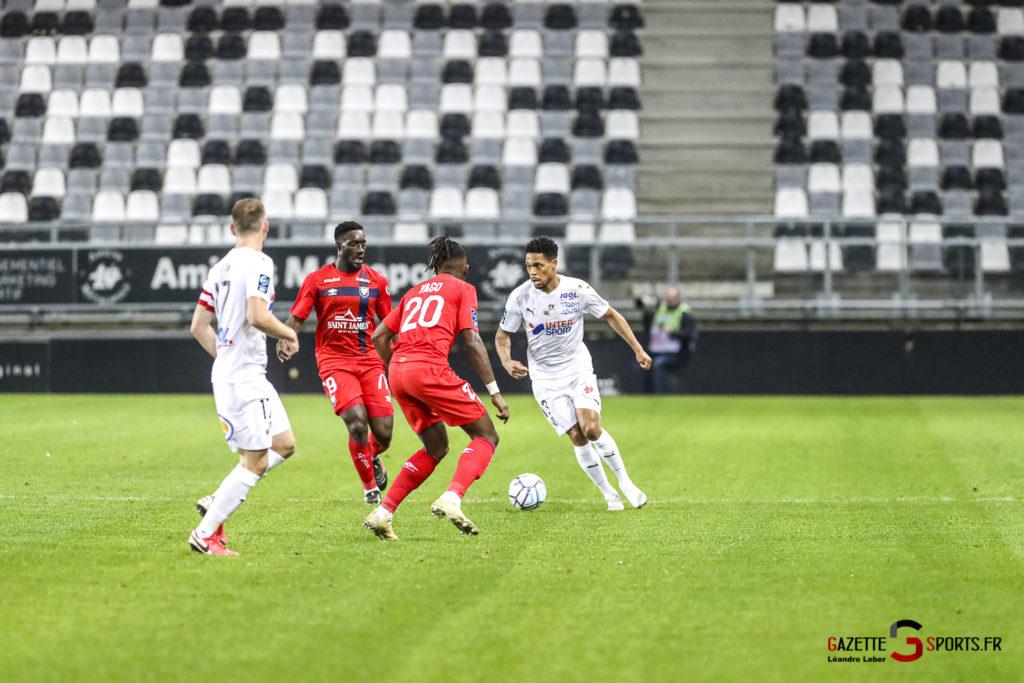Football Ligue 2 Amiens Vs Caen Fev 21 0021 Leandre Leber Gazettesports