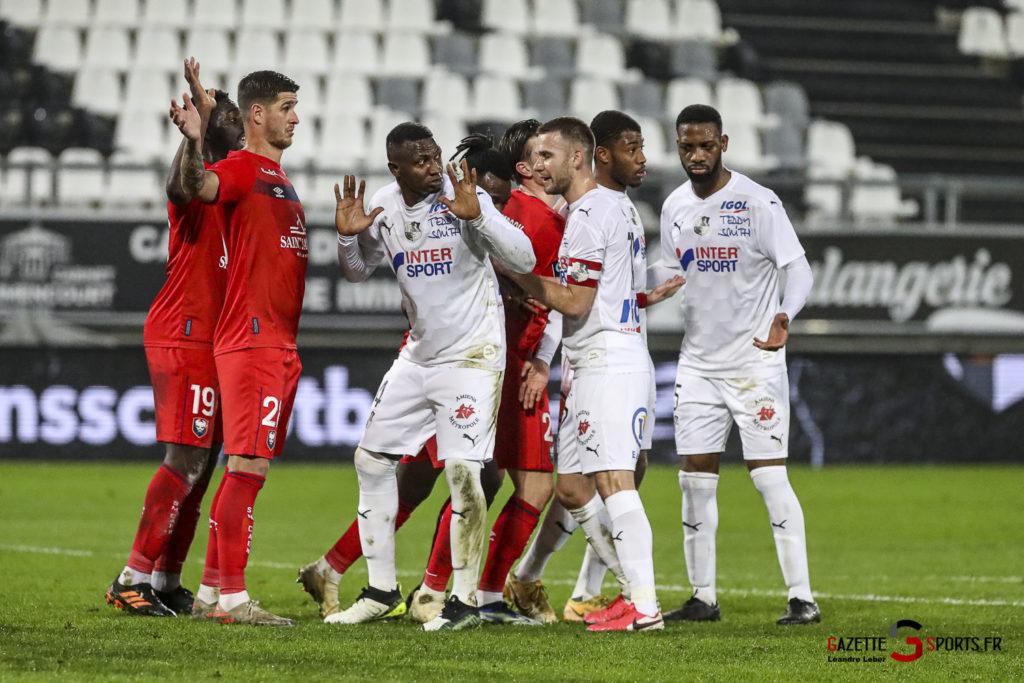 Football Ligue 2 Amiens Vs Caen Fev 21 0029 Leandre Leber Gazettesports