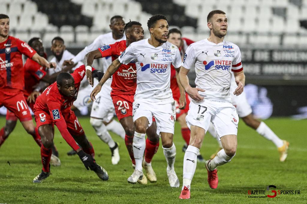 Football Ligue 2 Amiens Vs Caen Fev 21 0030 Leandre Leber Gazettesports