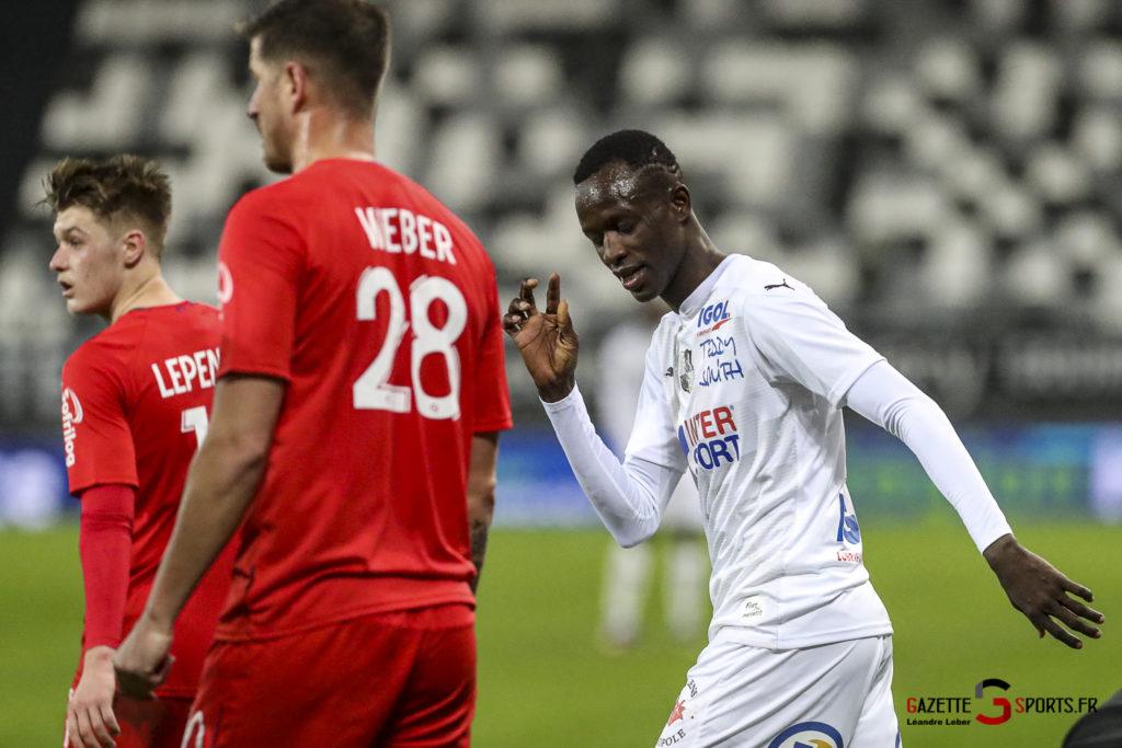 Football Ligue 2 Amiens Vs Caen Fev 21 0032 Leandre Leber Gazettesports