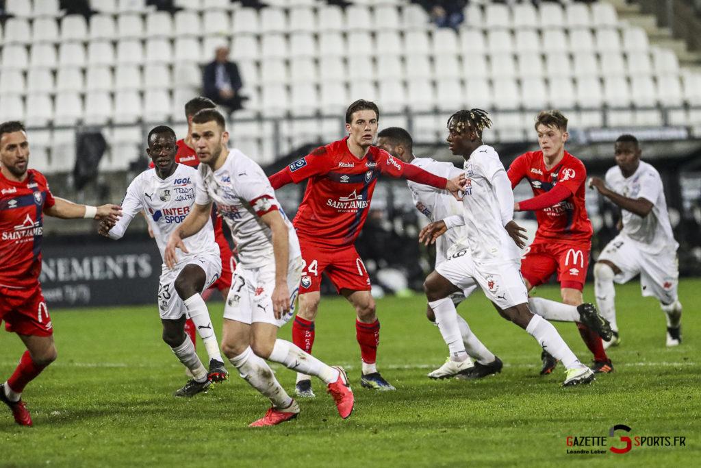 Football Ligue 2 Amiens Vs Caen Fev 21 0034 Leandre Leber Gazettesports