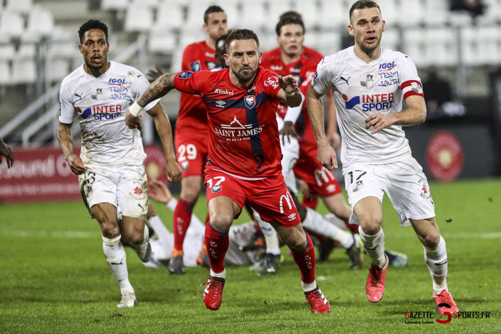 Football Ligue 2 Amiens Vs Caen Fev 21 0035 Leandre Leber Gazettesports