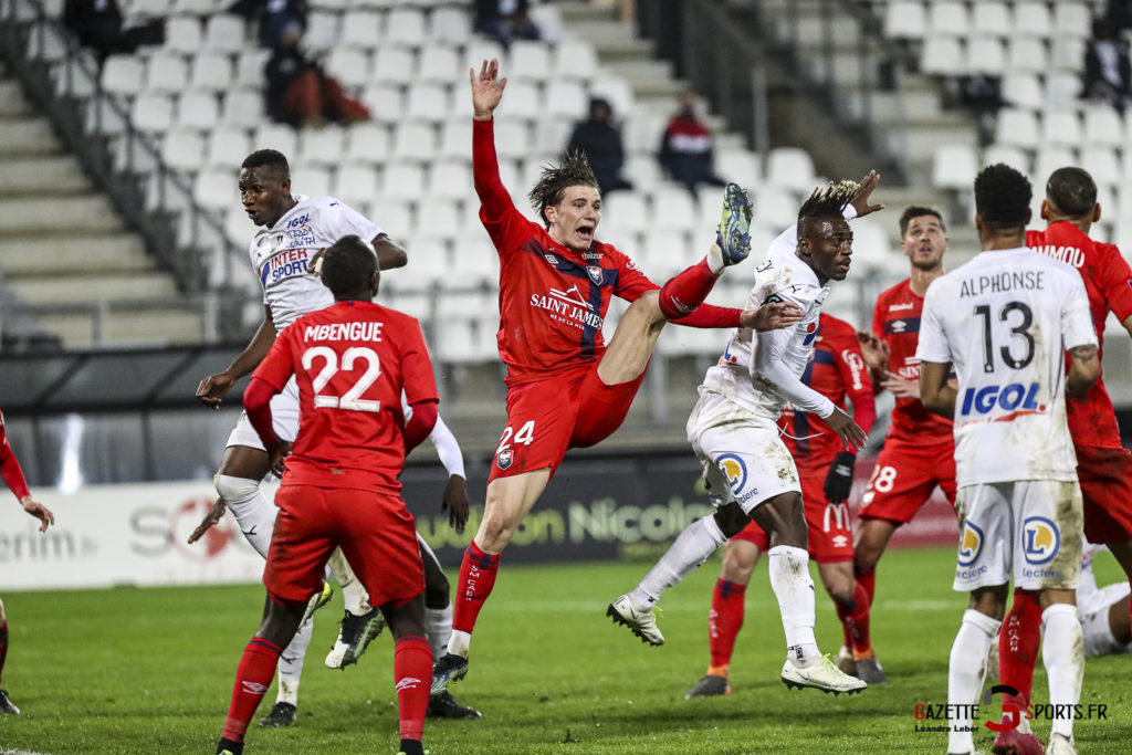 Football Ligue 2 Amiens Vs Caen Fev 21 0036 Leandre Leber Gazettesports