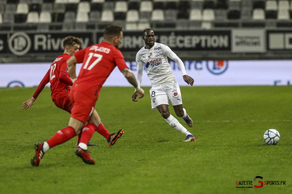 Football Ligue 2 Amiens Vs Caen Fev 21 0039 Leandre Leber Gazettesports