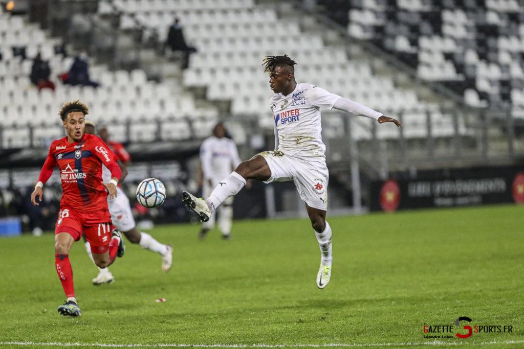 Football Ligue 2 Amiens Vs Caen Fev 21 0040 Leandre Leber Gazettesports