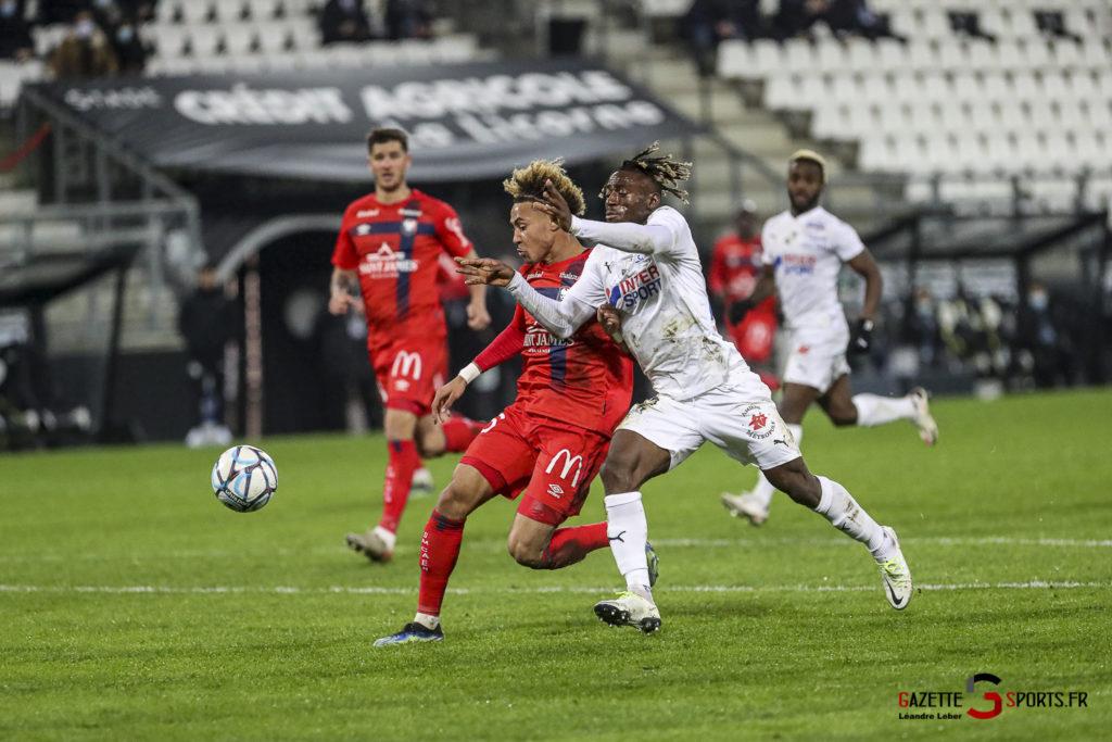 Football Ligue 2 Amiens Vs Caen Fev 21 0041 Leandre Leber Gazettesports