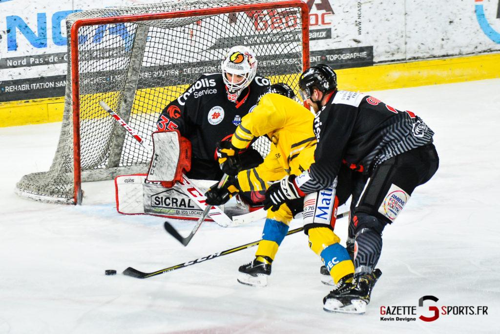 hockey sur glace amiens vs rouen 2021 kevin devigne gazettesports 76