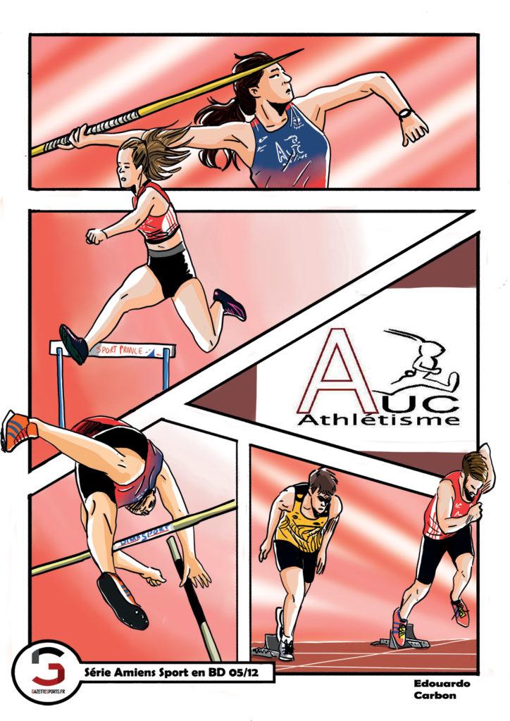 athletisme auc edouardo carbon illustration