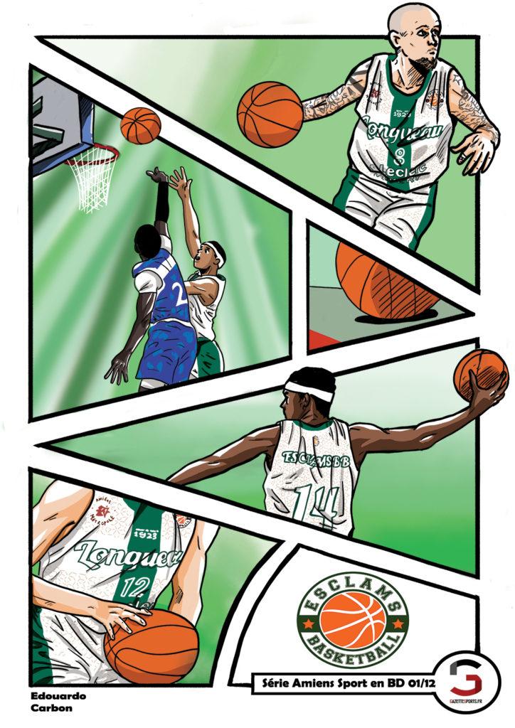 basket eclams longueau edouardo carbon illustration