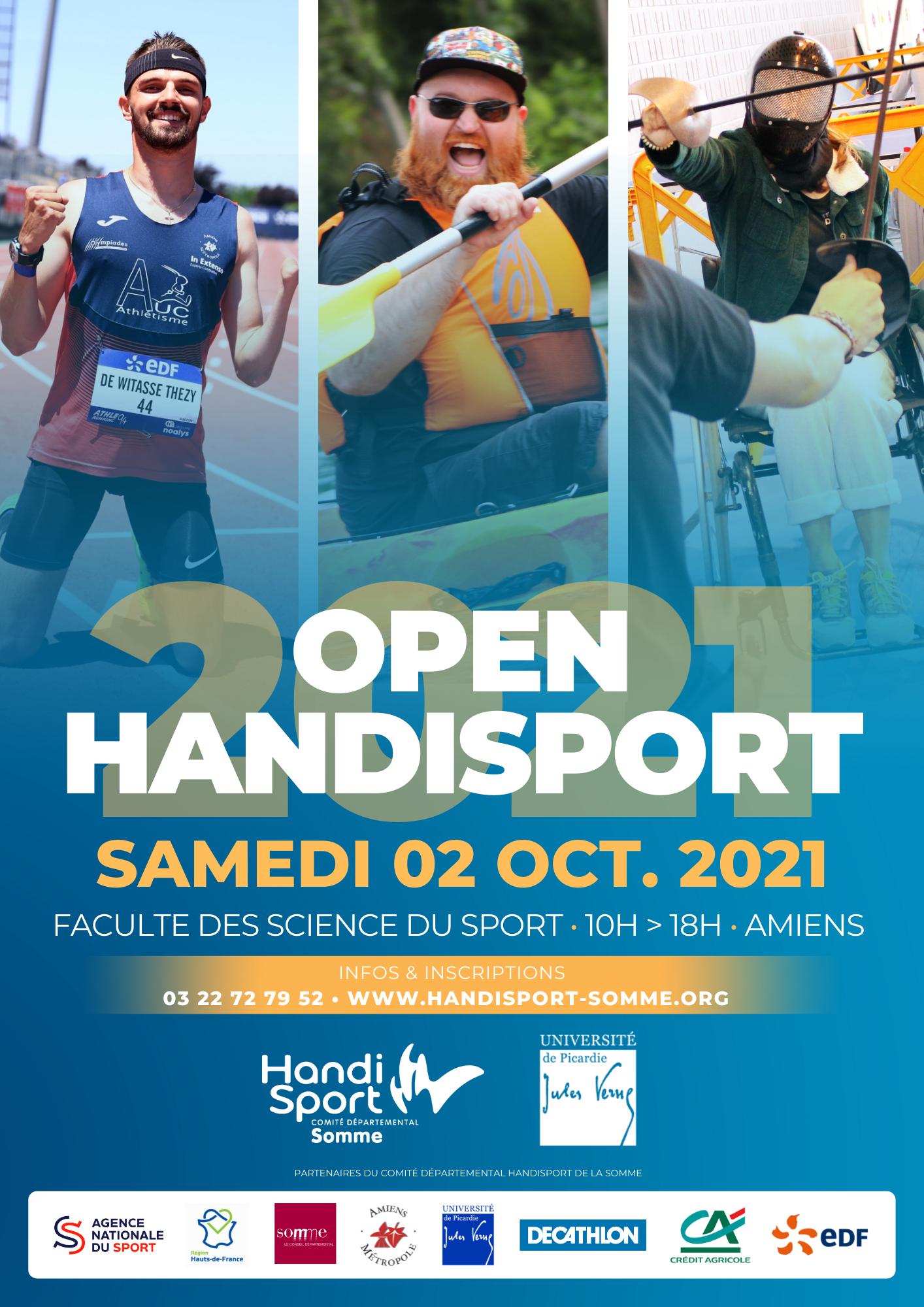 affiche 3 open handisport 2021 (2021 10 02)