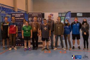 podium departemental sport adapte badminton