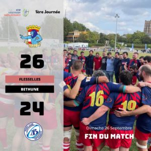 rugby flesselles