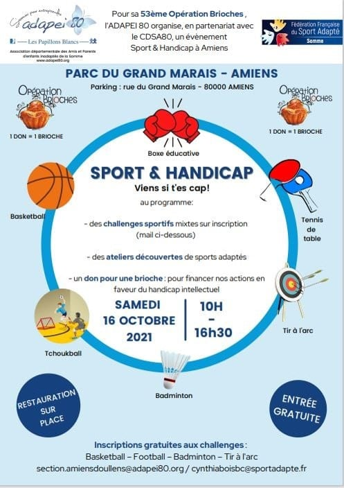 ADAPTED SPORTS – Brioches: a sporting and united occasion
