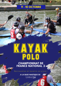 affiche kayak polo 2